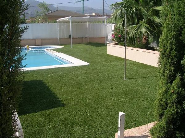 Bricolaje cesped artificial jardin - Jardin cesped artificial ...